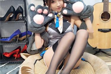 斗鱼主播女巫露娜-性感小姐姐照片伊俐亚猫女娘COSPLAY原图[30P-152MB]
