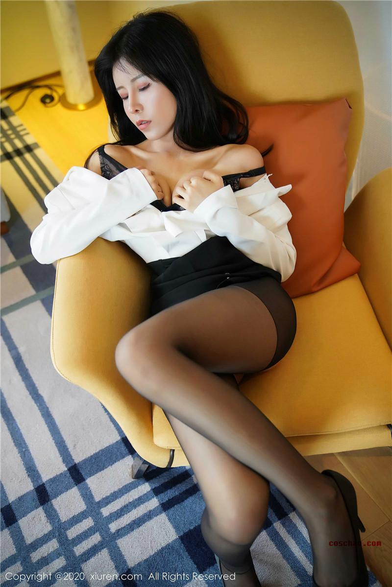 XiuRen秀人网美媛馆No.2346 奥莉写实文秘风[41P 42.2M]