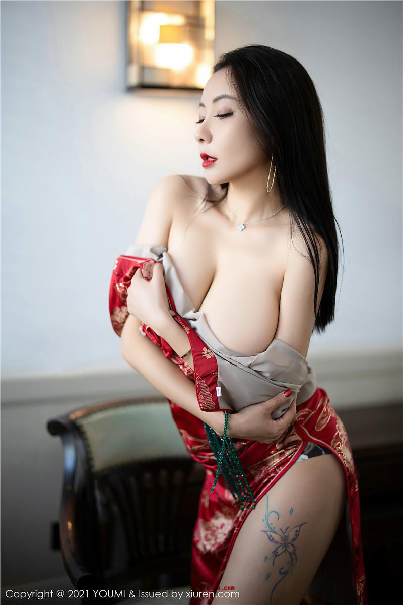 YouMi尤蜜荟VOL.598 果儿Victoria[46P 46.9M]