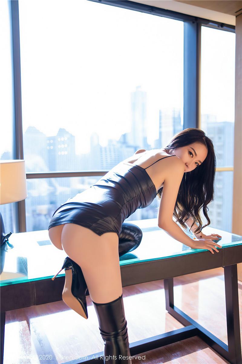 XiuRen秀人网美媛馆胶衣写实No.2920 梦心月[94P ]