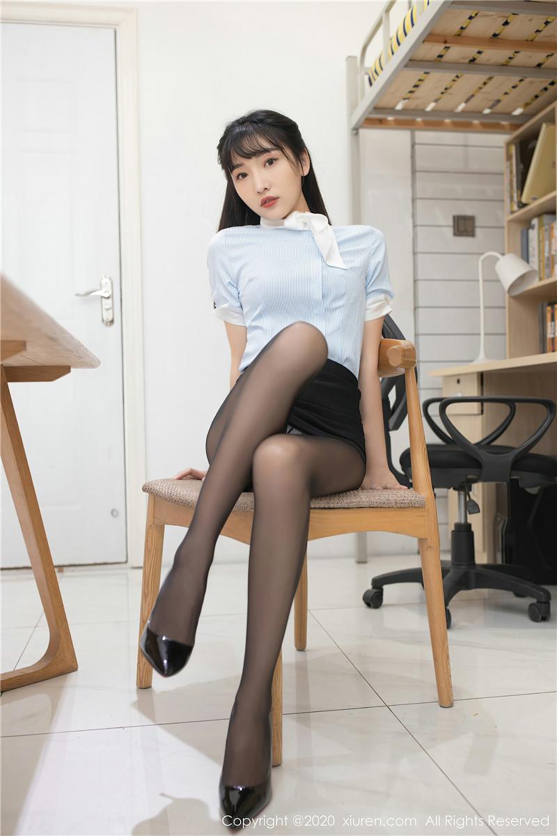 XiuRen秀人网美媛馆No.2932 陆萱萱文秘风[73P]