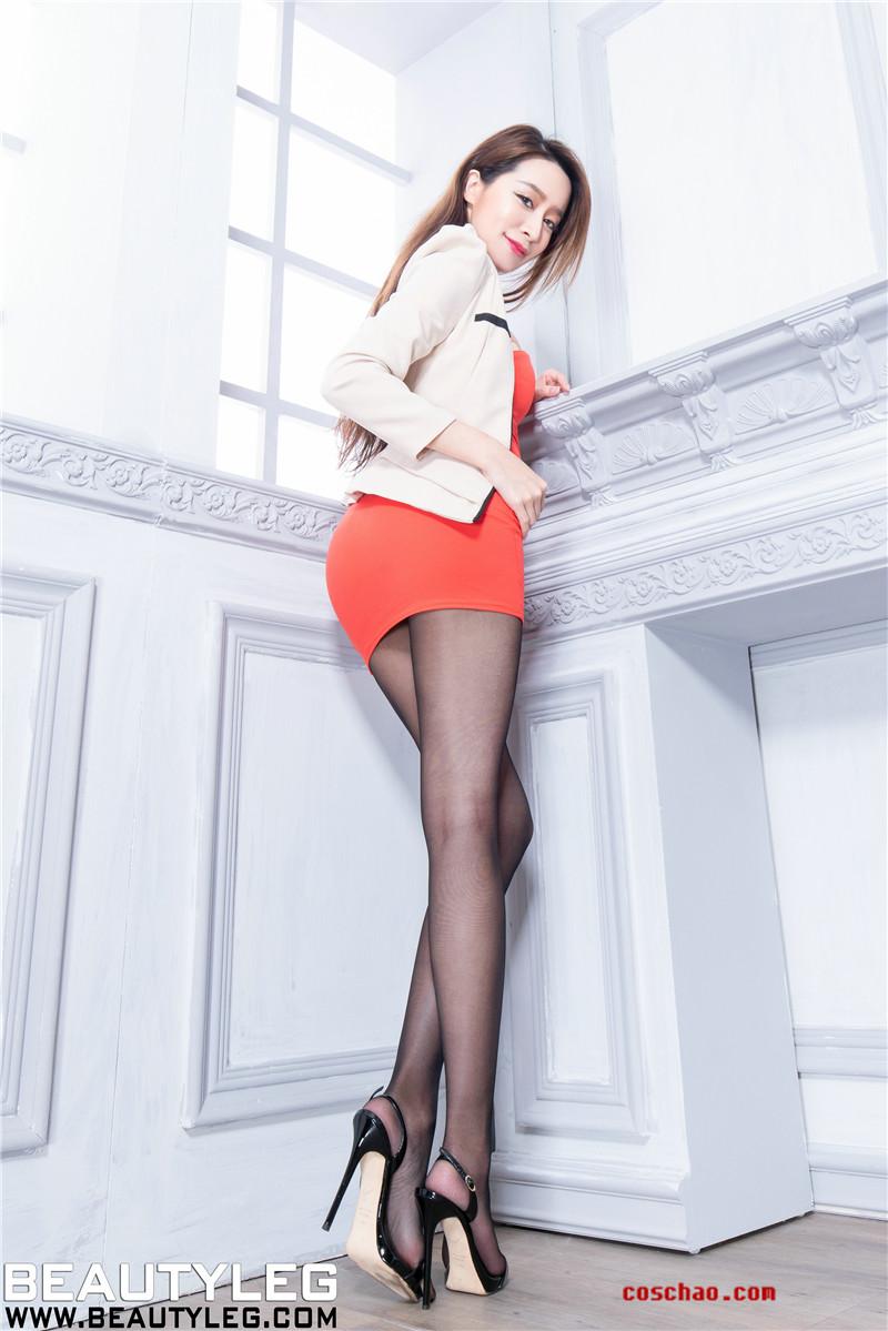 BeautyLeg新图No.2057 Dana小西装文秘风[48P]