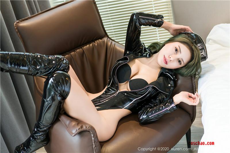 XiuRen秀人网美媛馆No.2891 Monika九月胶衣秀