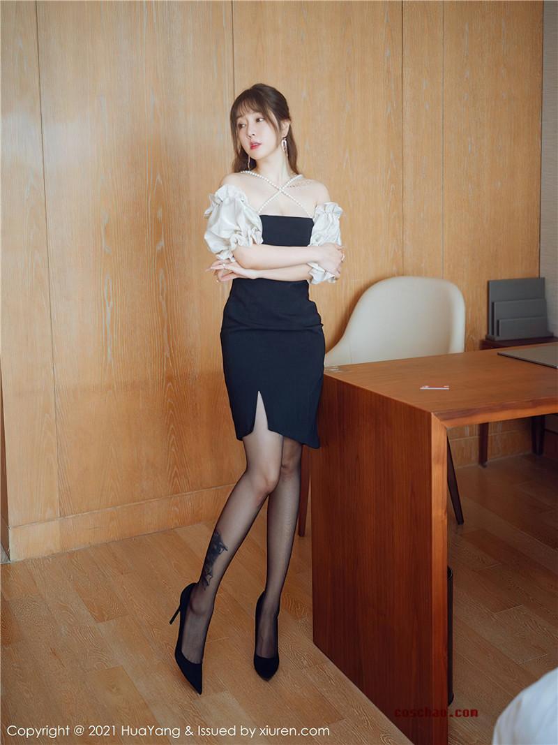 HuaYang花漾ShowVol.368王雨纯办公室文秘风写实[55P]