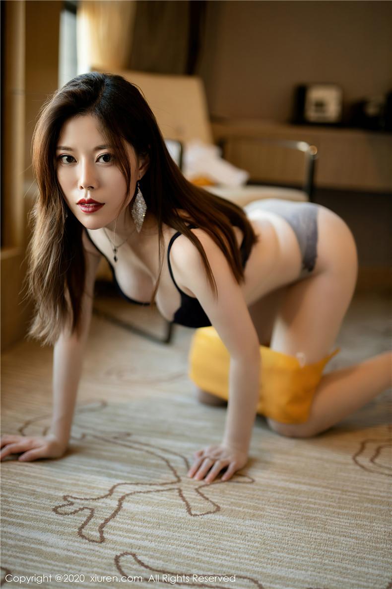 XiuRen秀人网美媛馆白茹雪AbbyNo.2850办公室文秘风[41P]