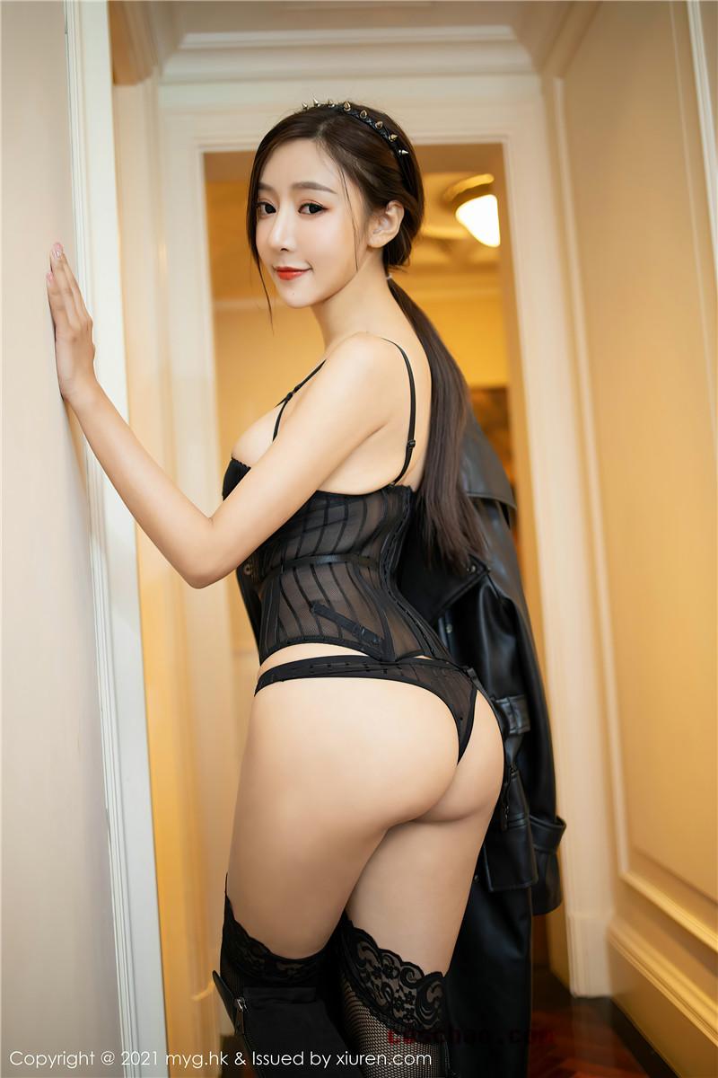 MyGirl美媛馆VOL.493 王馨瑶yanni皮衣长靴照片[67P]