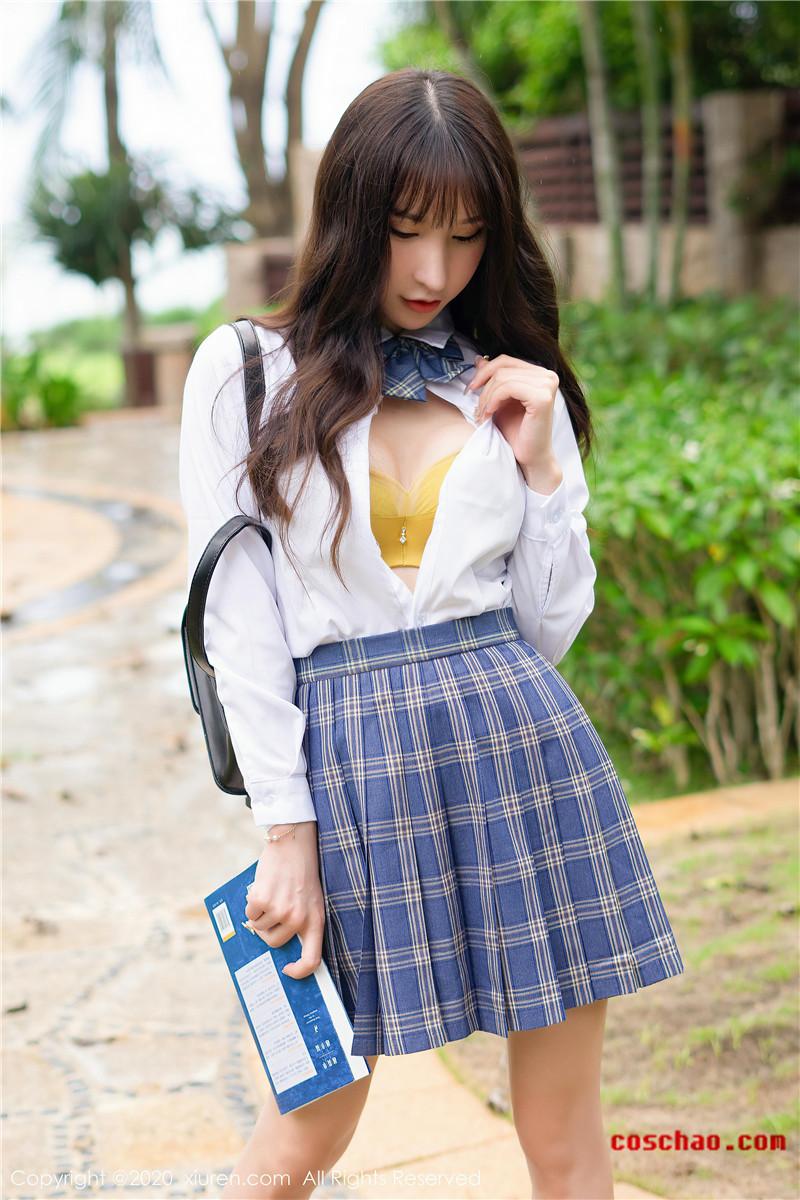 XiuRen秀人网美媛馆No.2290 周于希sandy三次元JK风格[68P]