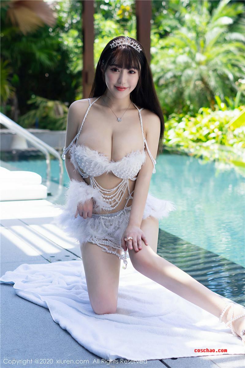 XiuRen秀人网美媛馆No.2282 朱可儿Flower[61P]