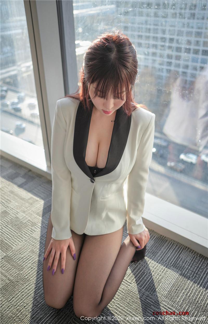 XiuRen秀人网美媛馆No.2259 王雨纯文秘风[57P]