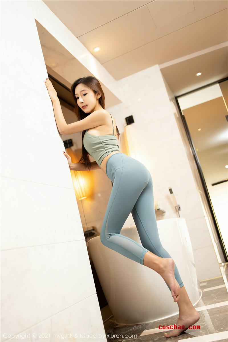 MyGirl美媛馆 VOL.485 王馨瑶yanni健身房[61P]