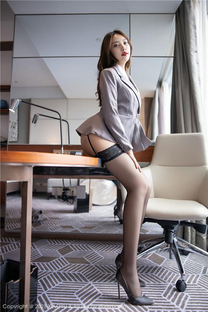 XiaoYu画语界VOL.450 郑颖姗Bev文秘风[91P ]