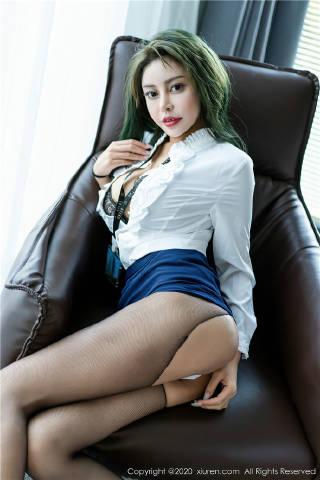 XiuRen秀人网美媛馆No.2791 Monika九月文秘风[66P]